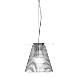 Iluminat electric Suspensie Kartell Light Air design Eugeni Quitllet, d14cm, transparent