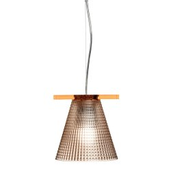 Iluminat electric Suspensie Kartell Light Air design Eugeni Quitllet, d14cm, roz