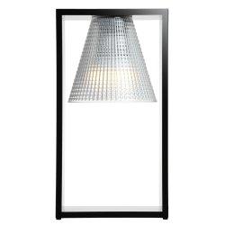 Default Category SensoDays Veioza Kartell Light Air design Eugeni Quitllet, 32x17x14cm, negru transparent