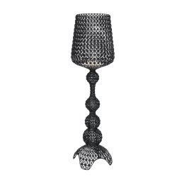 Veioze & Lampadare Lampadar Kartell Kabuki design Ferruccio Laviani, LED 25W, h165cm, negru opac