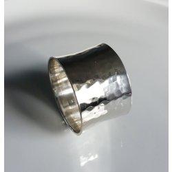 Textile decorative de masa Inel pentru servet Sander Arigato diametru 5 cm, 21 Silver