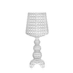 Veioze & Lampadare Veioza Kartell Mini Kabuki design Ferruccio Laviani, LED 8.4W, h70cm, transparent