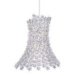 Suspensie Kartell Bloom design Ferruccio Laviani, G9 max 9x33W, d53cm, transparent