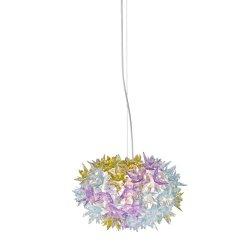Iluminat electric Suspensie Kartell Bloom design Ferruccio Laviani, G9 max 3x33W, d28cm, lavanda