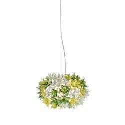 Iluminat electric Suspensie Kartell Bloom design Ferruccio Laviani, G9 max 3x33W, d28cm, menta
