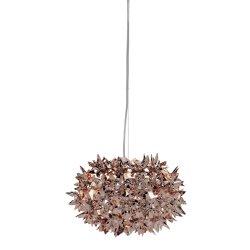 Pendule & Suspensii Suspensie Kartell Bloom design Ferruccio Laviani, G9 max 3x33W, d28cm, bronz metalizat