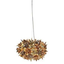 Pendule & Suspensii Suspensie Kartell Bloom design Ferruccio Laviani, G9 max 3x33W, d28cm, auriu-bronz-cupru metalizat