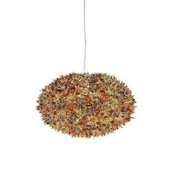 Iluminat electric Suspensie Kartell Bloom design Ferruccio Laviani, G9 max 6x33W, d53cm, auriu-bronz-cupru metalizat