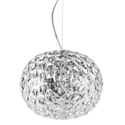 Iluminat electric Suspensie Kartell Planet design Tokujin Yoshioka, LED, d31cm, h27cm, transparent