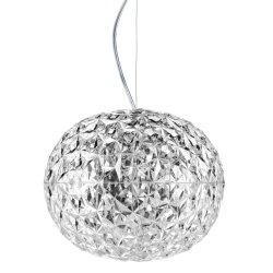 Pendule & Suspensii Suspensie Kartell Planet design Tokujin Yoshioka, LED, d31cm, h27cm, transparent