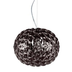 Pendule & Suspensii Suspensie Kartell Planet design Tokujin Yoshioka, LED, d31cm, h27cm, fumuriu