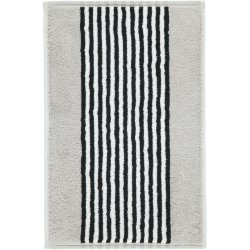 Default Category SensoDays Prosop baie Cawo Black & White Stripes 50x100cm, 76 argintiu
