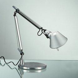 Lampi de birou Veioza Artemide Tolomeo Micro Tavolo design Michele De Lucchi , Giancarlo Fassina, LED 9.6W, aluminiu