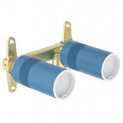 Sistem ingropat Ideal Standard pentru baterie lavoar Joy si Conca cu montaj pe perete