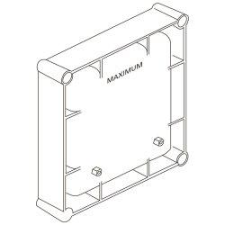 Cutie electronica incastrata Ideal Standard cu alimentare la retea 220V
