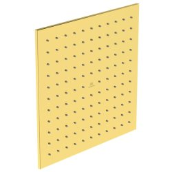 Sisteme de dus Palarie de dus Ideal Standard Ideal Rain Square 300x300, auriu periat