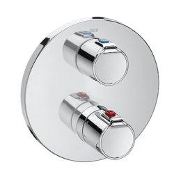 Baterii cada Baterie cada termostatata Roca Victoria T500 montaj incastrat, corp incastrat inclus