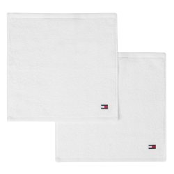 Default Category SensoDays Prosop baie Tommy Hilfiger Plain 2 30x30cm, Alb