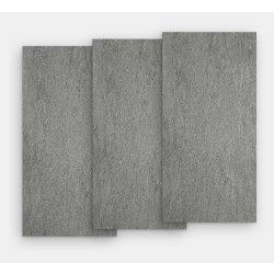 Gresie Gresie portelanata rectificata FMG Pietre Quarzite 120x20cm, 10mm, Antracite Levigato