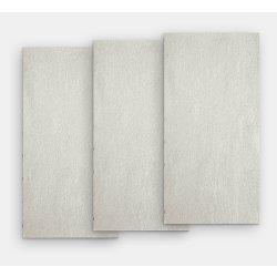 Placari & Pardoseli Gresie portelanata rectificata FMG Pietre Quarzite 120x20cm, 10mm, Argento Strutturato