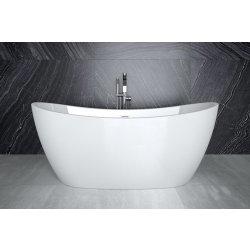 Produse Noi Cada free-standing Besco Ayla 170x80cm alba