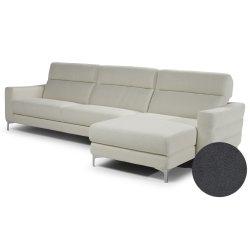 Canapele de colt Canapea de colt Softaly by Natuzzi Stima B940 orientare dreapta, tapiterie Mattinata gri 01