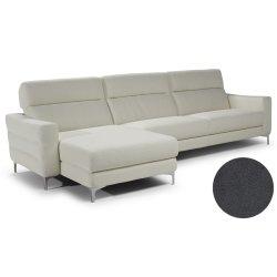 Canapele de colt Canapea de colt Softaly by Natuzzi Stima B940 orientare stanga, tapiterie Mattinata gri 01