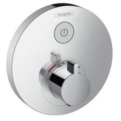 Baterii dus Baterie dus termostatata Hansgrohe ShowerSelect S cu 1 functie, montaj incastrat, necesita corp ingropat