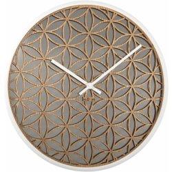 Default Category SensoDays Ceas de perete NeXtime Bella Mirror 50cm, White