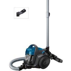 Aspiratoare Aspirator fara sac Bosch BGS05A220 Serie 2, 700W, recipient praf 1,5 litri, laguna blue / stone grey