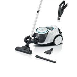 Uz casnic Aspirator fara sac Bosch Pro Hygienic BGS41HYG1 Serie 6, 550W, Smart Sensor Control, alb