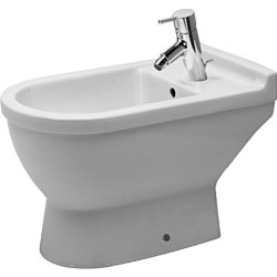 Obiecte sanitare Bideu pe pardoseala Duravit Starck 3, 65cm