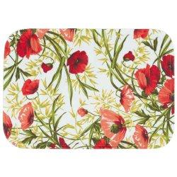 Textile decorative de masa Suport farfurii Sander Garden Bistro Alvor 35x50cm oval, acoperire acrylica, 01 Red