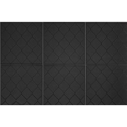 Placari & Pardoseli Faianta Diesel living Fence 20x20cm, 7mm, Black