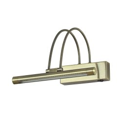 Iluminat baie Aplica Ideal Lux Bow AP36 LED, 36x0.07W, 26x18cm, bronz