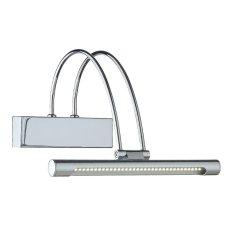 Iluminat baie Aplica Ideal Lux Bow AP36 LED, 36x0.07W, 26x18cm, crom