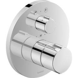 Baterii cada Baterie cada termostatata Duravit B.1 montaj incastrat, necesita corp ingropat