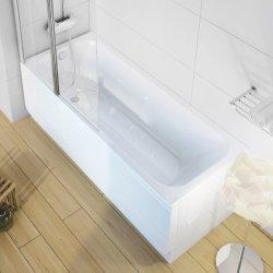 Cazi de baie simple Cada baie rectangulara Ravak Concept Chrome 170x75cm, acril