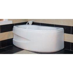 Cazi de baie simple Cada baie asimetrica Belform Koni 156x90cm, acril, orientare stanga