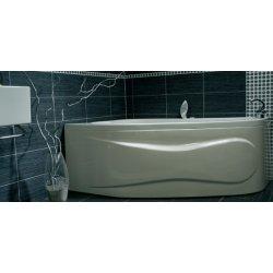 Cazi de baie simple Cada baie asimetrica Belform Mistika 150x100cm, acril, orientare dreapta