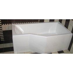 Cazi de baie simple Cada baie asimetrica Belform Noa 170x90/70cm, acril, orientare stanga