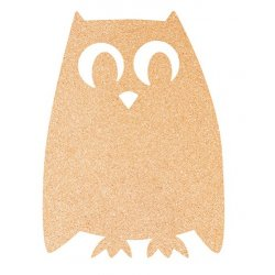 Table de scris Panou pluta Securit Silhouette Owl 40,7x30x0,5cm
