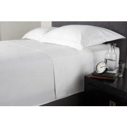 Cearceafuri de pat Cearceaf de pat Behrens 1000TC, 230x265cm, alb