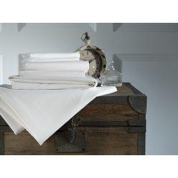 Cearceafuri de pat Cearceaf de pat cu elastic Behrens 800TC, 180x200cm, Alb