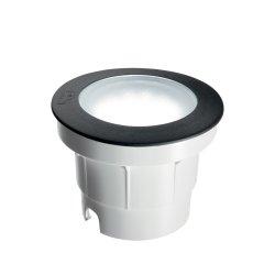 Iluminat exterior Aplica de exterior Ideal Lux Ceci Round FI1 Big LED, 1x10W, 15.5x11.5cm, negru