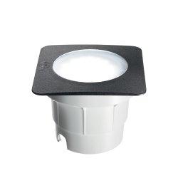 Iluminat exterior Aplica de exterior Ideal Lux Ceci Square FI1 Big LED, 1x10W, 15.5x11cm, negru