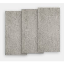 Gresie Gresie portelanata rectificata FMG Pietre Quarzite 120x20cm, 10mm, Cenere Levigato