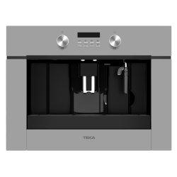 Electrocasnice mari Espressor incorporabil Teka CLC 855 GM SM pompa 15 bari, functie de auto-curatare; rasnita cafea cu 13 trepte, program automat de decalcifiere, Cristal Steam Grey/Infinity Glass