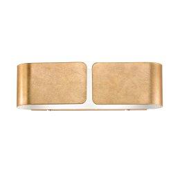 Default Category SensoDays Aplica Ideal Lux Clip AP2 Small, 2X60W, 44x12.7cm, auriu