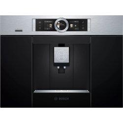 Default Category SensoDays Espressor automat incorporabil Bosch CTL636ES6 Home Connect, 19 bari, rasnita ceramica, SensoFlow, inox